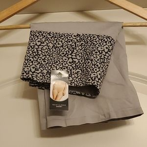 Jockey - NWT Grey/Leopard Waist Slimmer Shorts XXL